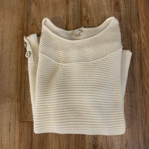 Talbots Ribbed Knit Sweater